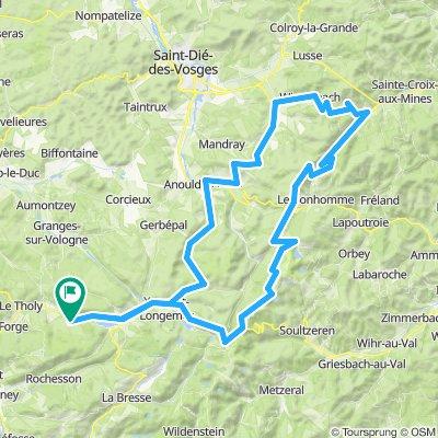 Route des Crêtes Noord - Col du Bonhomme