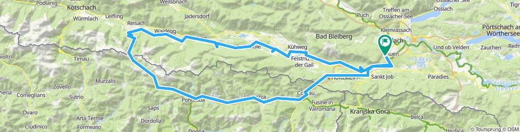 Straninger Sattel - Villach