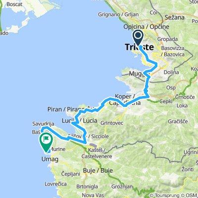 Trieste - Umag