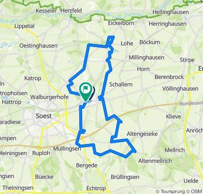 12 auf einen Streich – Die Vielfalt der Gemeinde Bad Sassendorf auf 45 Kilometern erleben
