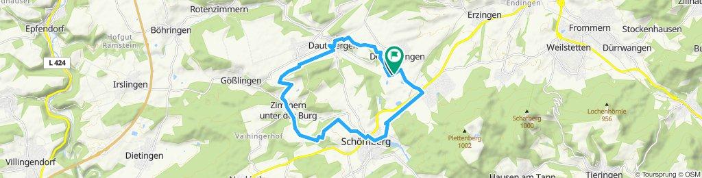 Schiefer-Tour - Radtour durchs Obere Schlichemtal