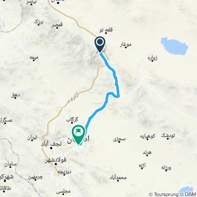 Radwege und Routen in und um Isfahan | Bikemap - Deine Radrouten