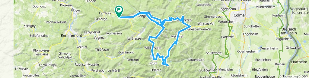 3x klimmen: La Schlucht - Platzenwasel - Bramont