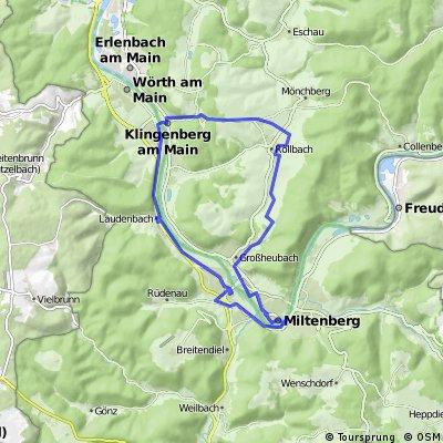 Rundweg Klingenberg - Miltenberg - Klingenberg