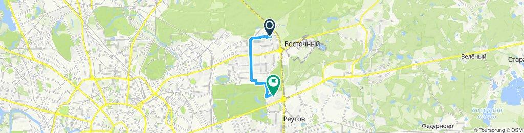 Велокурьерское возвращение из Гольяново домой 15 07 2019