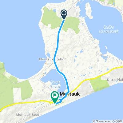 Ruta lenta en Montauk