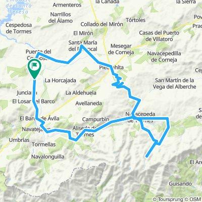 Percurso Vuelta 2019