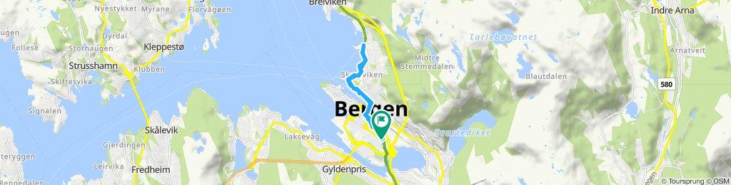 Slow ride in Bergen