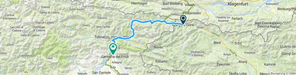 2019. VII. 12. Kranjska Gora - Gemona del Friuli