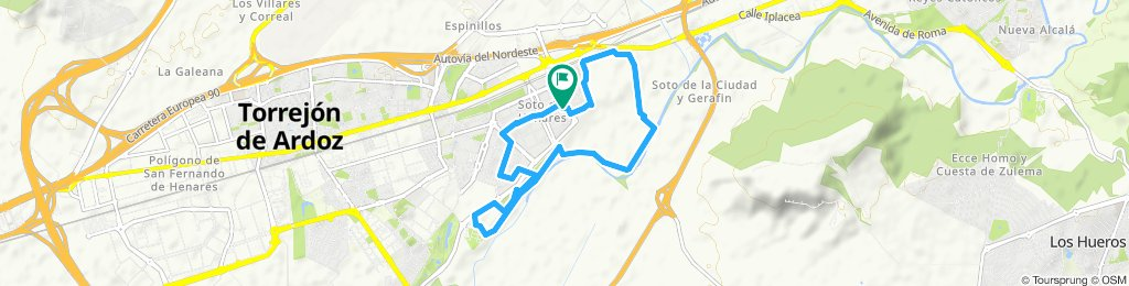 Paseo lento en Torrejón de Ardoz