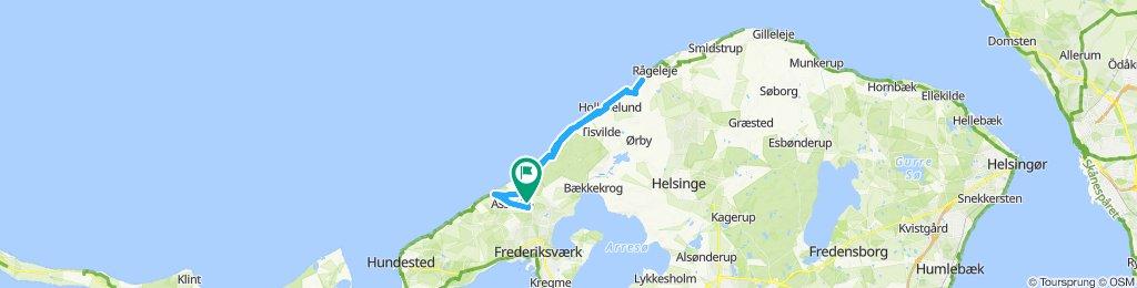 Slow ride in Frederiksværk