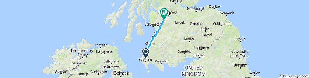 Tour de Wielka Brytania & Irlandia 2019 dzień 9
