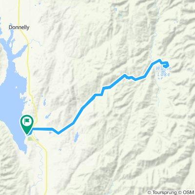 Cascade Warm Lake Loop