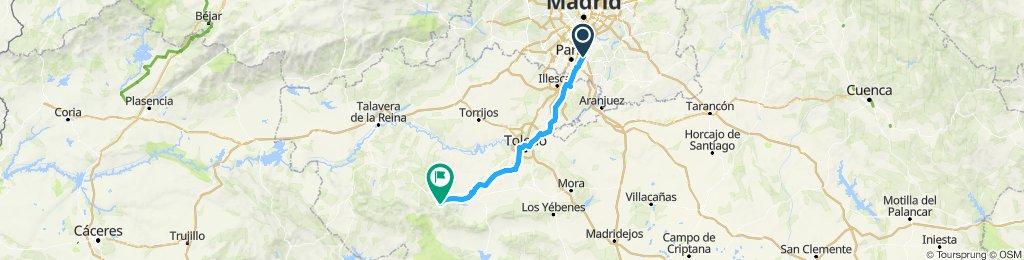 1ª Etapa Camino al Rocio Pinto-Hontanar