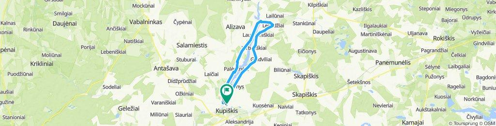 004. Aplink Kupiškio marias