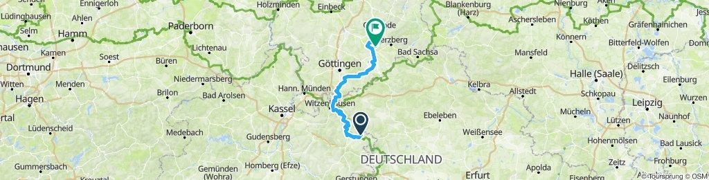 UHW 003: Wolfsbrunnen - Hattorf über Friedland