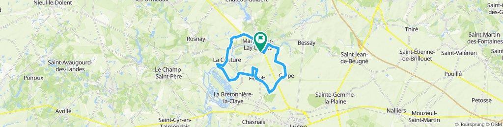 Grand tour autour de Mareuil