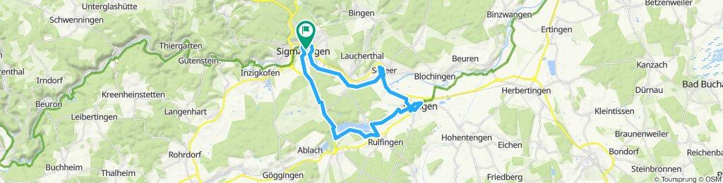 Radregion Sigmaringen  - Familien-Tour