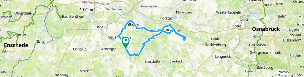 Gemütliche Route in Neuenkirchenhj
