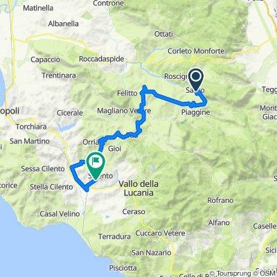 4° GIORNO Sacco - Castelnuovo