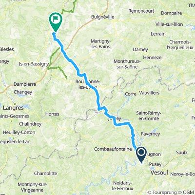 Dag 3: Scye → Doncourt-sur-Meuse
