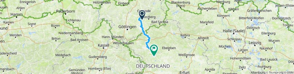 UHW 001: Hattorf - Mühlhausen/Thür.