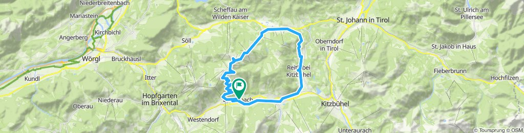 Ellmau - Hartkaiserbahn - Jochstubn
