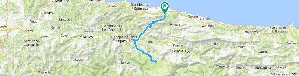 Nueva - Lagos de Covadonga - Nueva