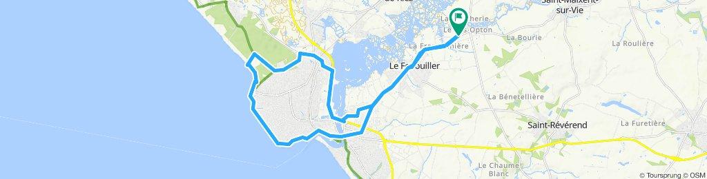 Easy ride in Le Fenouiller