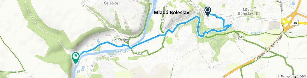 Slow ride in Mlada Boleslav