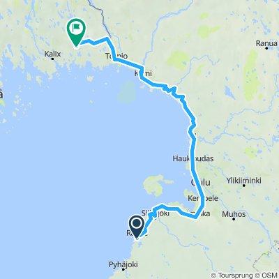 EuroVelo 10 - Part 6 - From Raahe to Björkfors