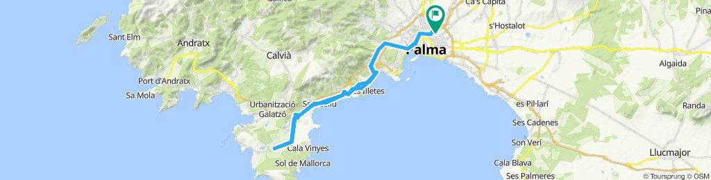 44.8 km Son Ferrer