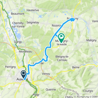 Auxerre - Montigny-la-Resle