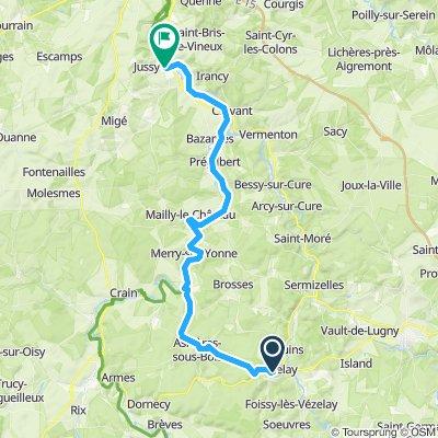Vezelay - Escolives