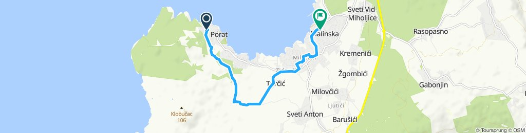 From Porat to Malinska via Farmers Way 👩🌾 🚲
