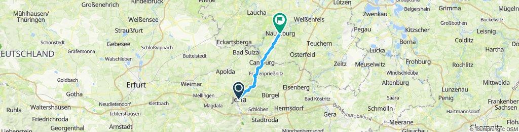 Saaleradweg Jena-Naumburg