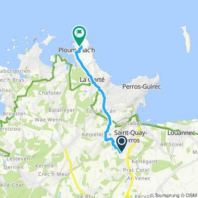 Gemütliche Route in Saint-Quay-Perros