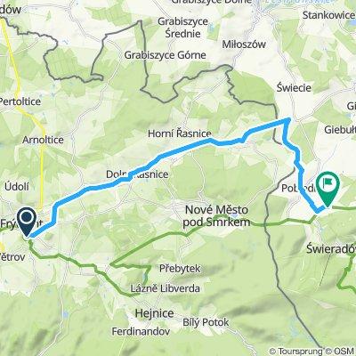 Frýdlantskem do Polska a zpět