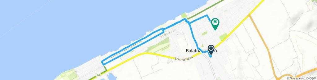 Easy ride in Balatonszárszó
