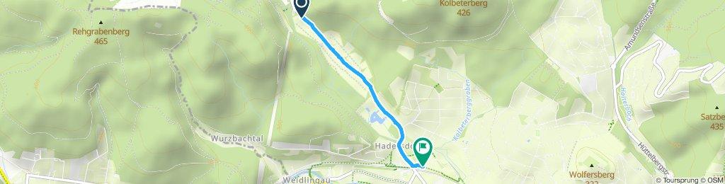 Gemütliche Route in Wien