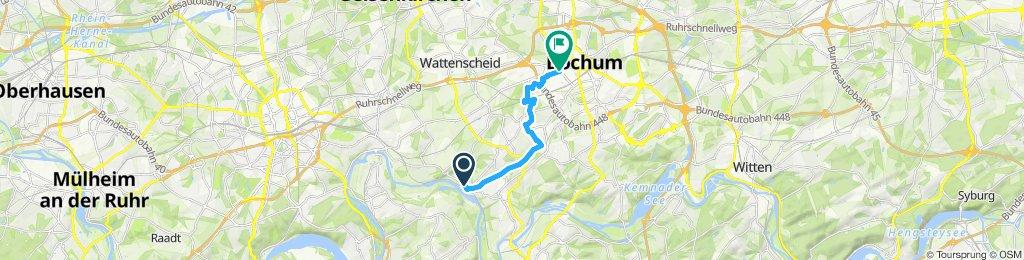 Route im Schneckentempo in Bochum