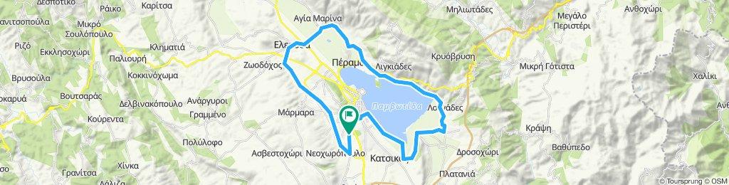 Lake medium route-1