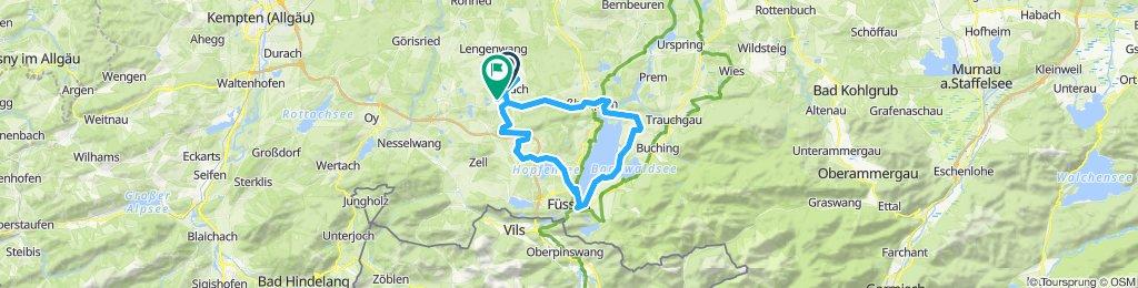 Gemütliche Route in Seeg