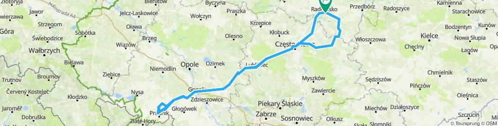 401 km w jeden dzień