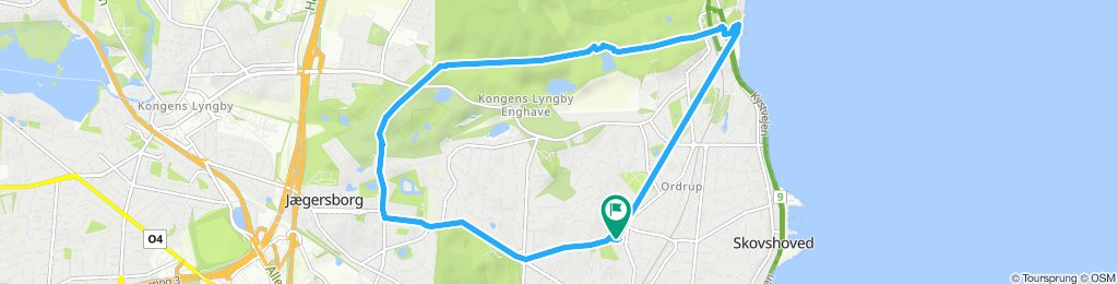 Easy ride in Charlottenlund19/7