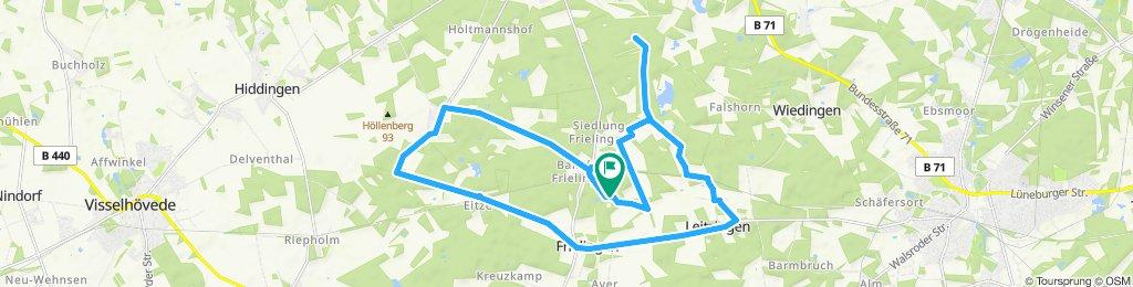 Springhorn Rundtour zum Steingarten