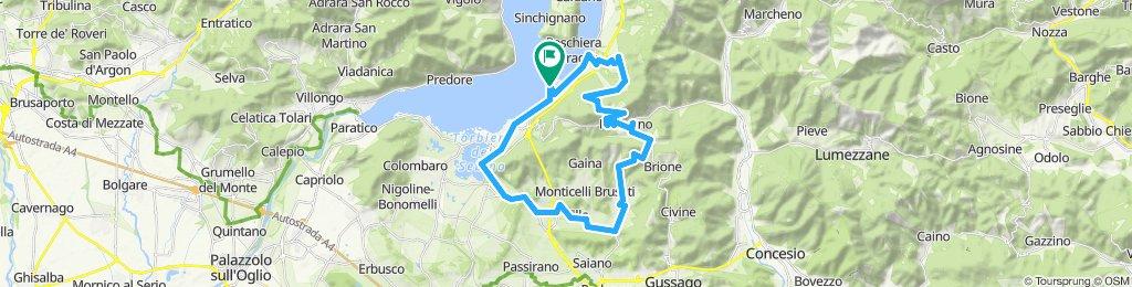 Iseo 37km 850hm