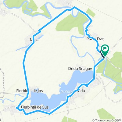 Fierbinti Dridu Adancata 30km