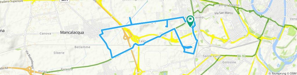 Giro a velocità lenta in Verona. qq