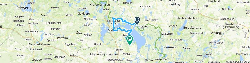 Waren-Malchow-Röbel 72km